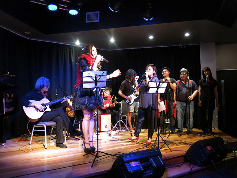 The 9th Voice Festival-Sydney performance group SwanX