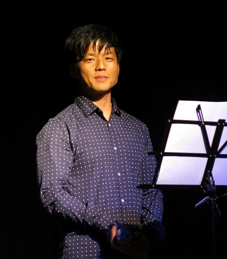 The 9th Voice Festival-Sydney performer Hiroaki Nakano