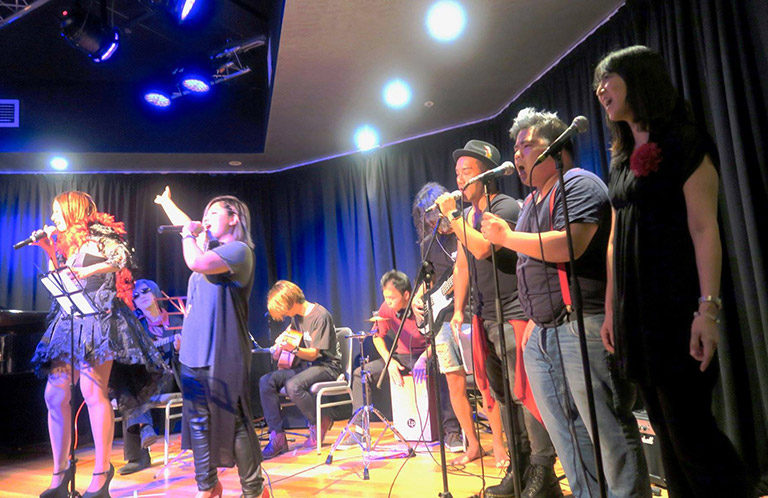 The 9th Voice Festival-Sydney performance group Swank with Team Galileo