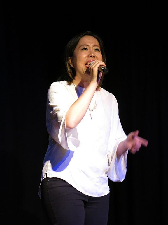 The 9th Voice Festival-Sydney performer  Yukari Susuki