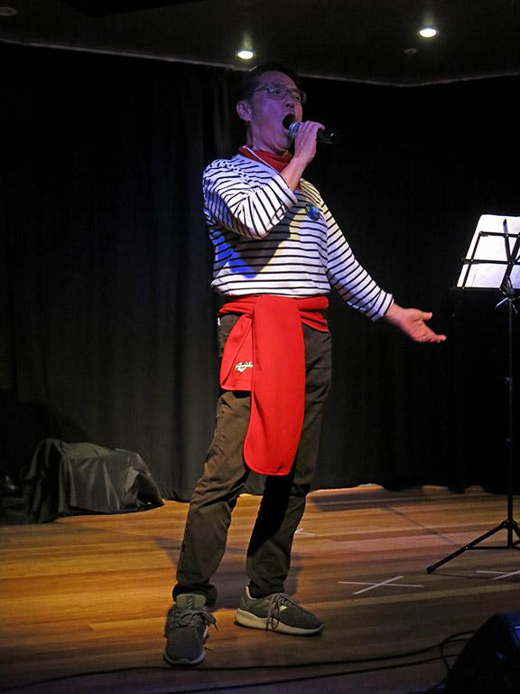 The 9th Voice Festival-Sydney performer  Amazing G